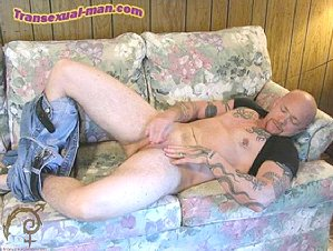 transsexual buck angel - the man with a pussy