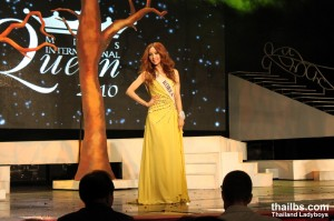 Miss International Queen 2010. The 1-st runner,  Ms Mini from Korea