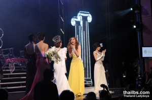 Miss International Queen 2010. Ms Mini's tears of disappointment