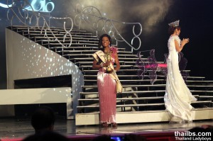 Miss International Queen 2010. Stasha Sanchez,  the 3-rd runner from the US